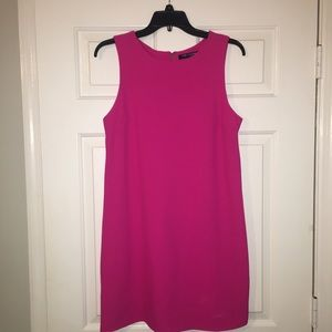 One clothing hot pink dress